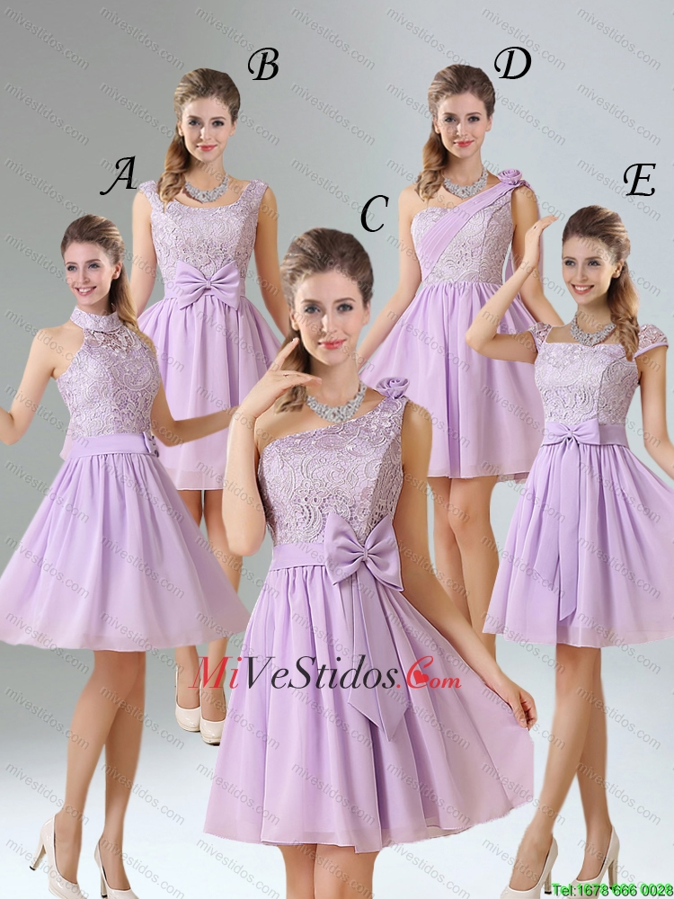 Vestidos de damas de honor para quinceanera