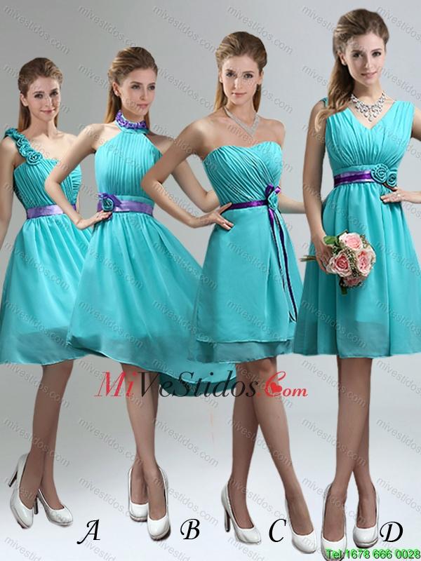 e837e6cec La longitud más populares en la rodilla Vestidos de dama de honor para 2015