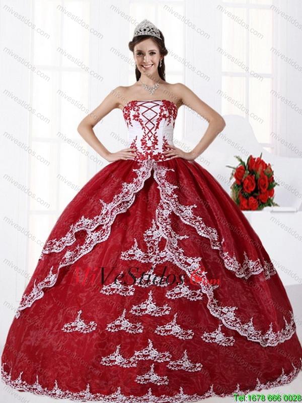 64ec6473d Multi Color sin tirantes vestido de quinceañera con Bordado - €232.54