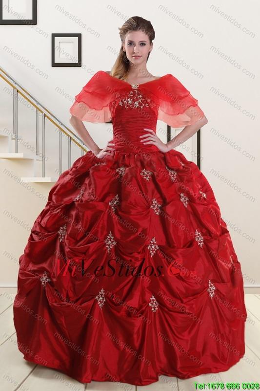 Vestidos Color Vino Tinto De 15 Anos