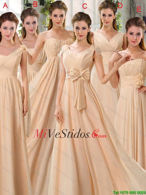 Vestidos Color Champagne New Quinceanera Dresses