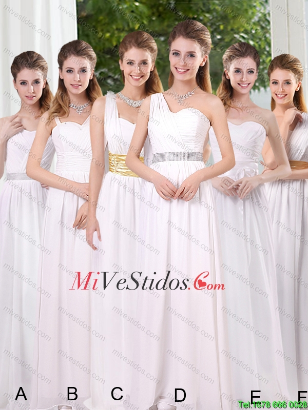 Vestidos para damas de honor en otono