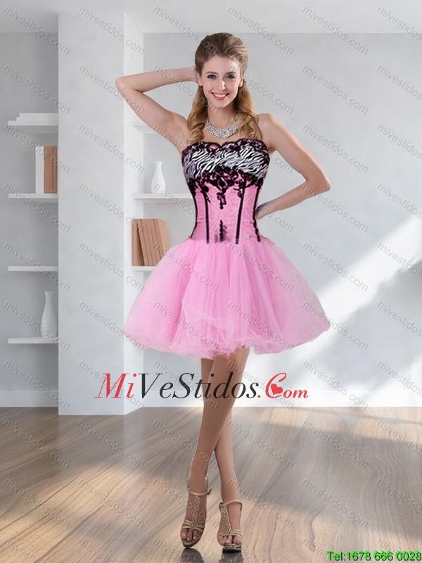 Cebra linda imprimió multicolor vestido de fiesta con pick ups y ...