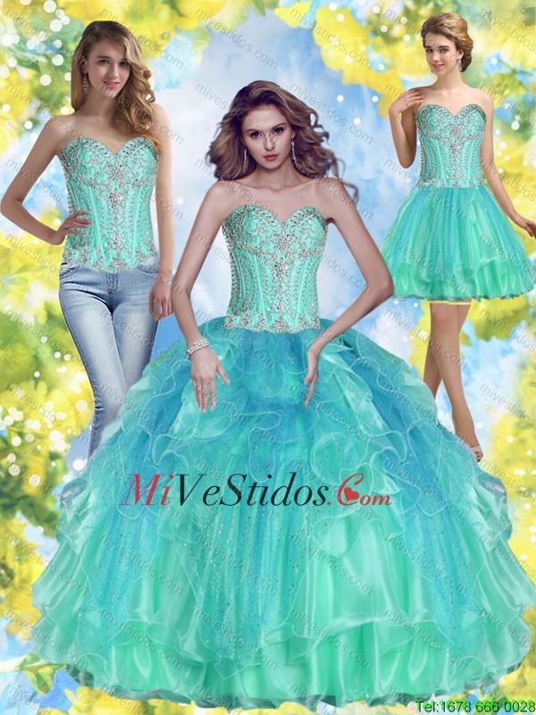 color jade | new quinceanera dresses