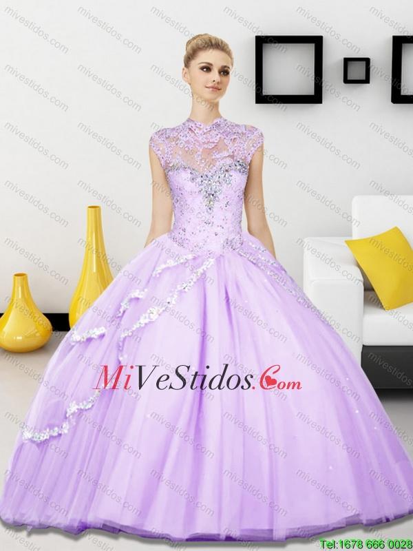 vestidos color lila para 15 a   new quinceanera dresses