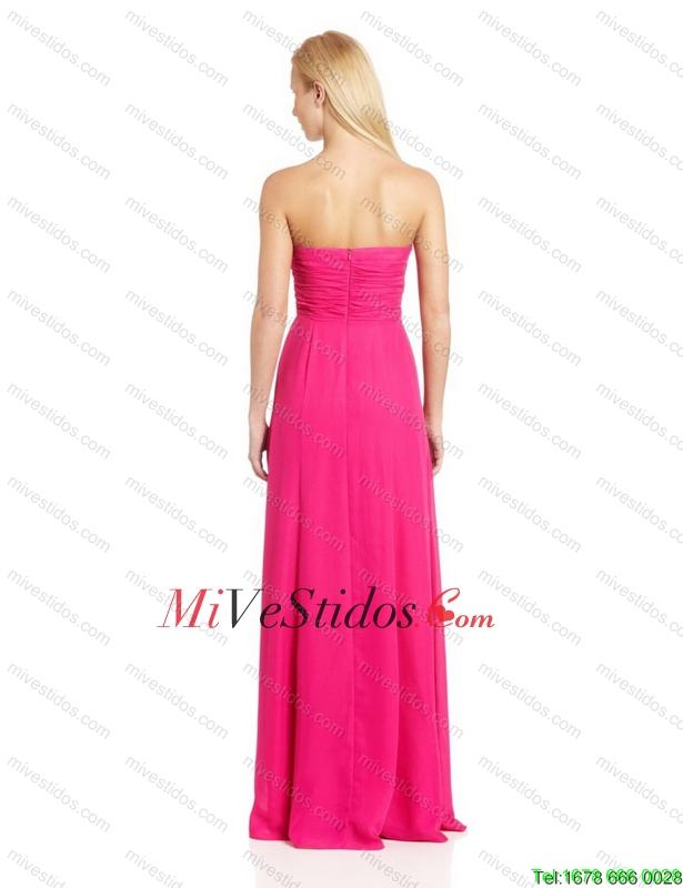 Pretty imperio del amor de Dama Vestidos con cepillo tren en rosa ...