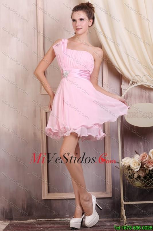 bebé Rosa tirantes corto Mini-longitud vestido de fiesta con ...