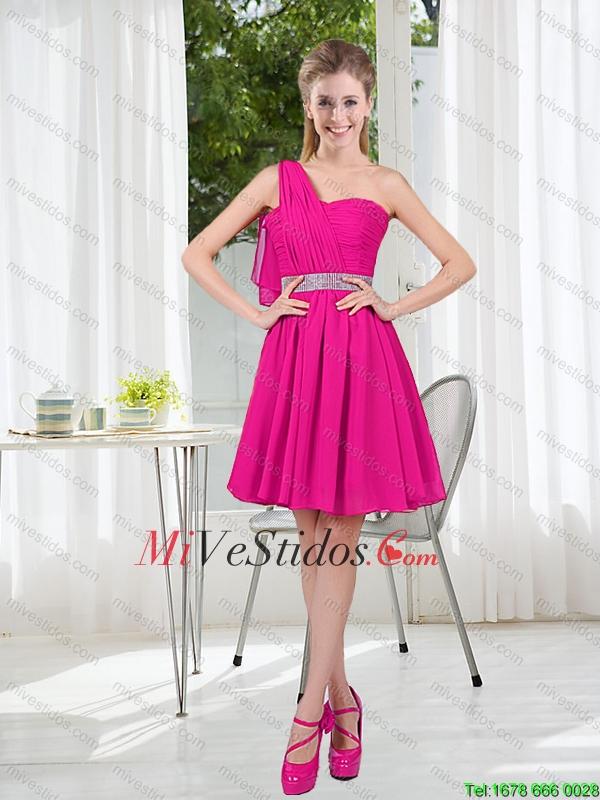 2016 primavera una línea corta Dama Vestidos con acanalar - €61.50