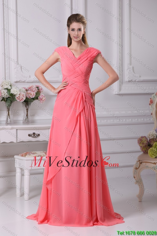 vestido color melon | new quinceanera dresses