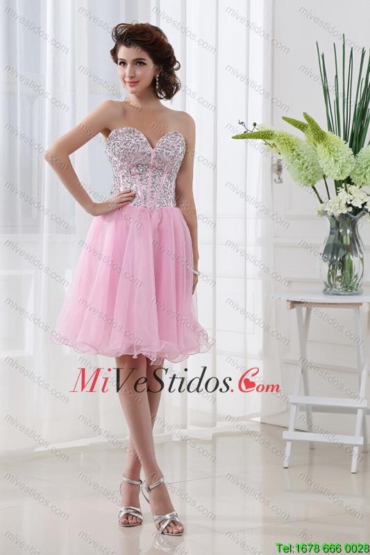 bebé Rosa Una Línea del organdí del amor Hermosa Dama vestido - €100.78