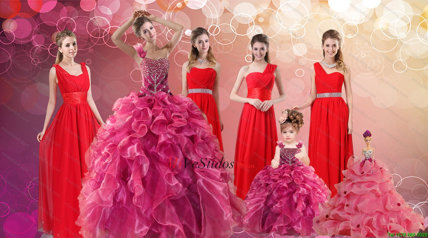 vestido dama largo | new quinceanera dresses