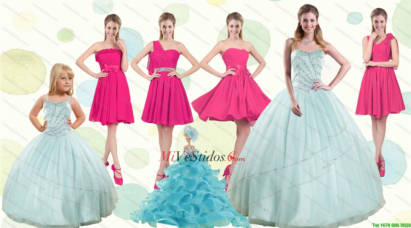 verde manzana | new quinceanera dresses