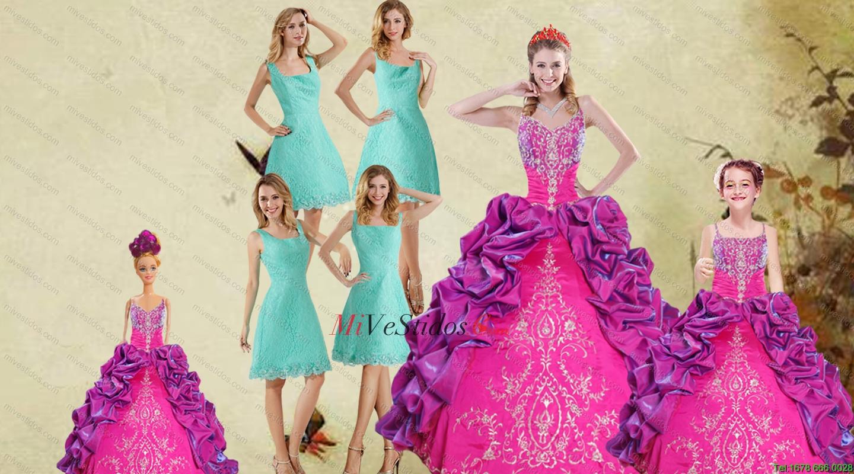 Multi Color correas espaguetis volantes vestido de quinceañera y la ...