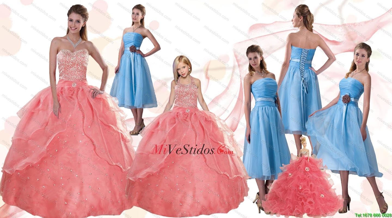 Moderno Aqua Vestido De Dama Ideas - Colección de Vestidos de Boda ...
