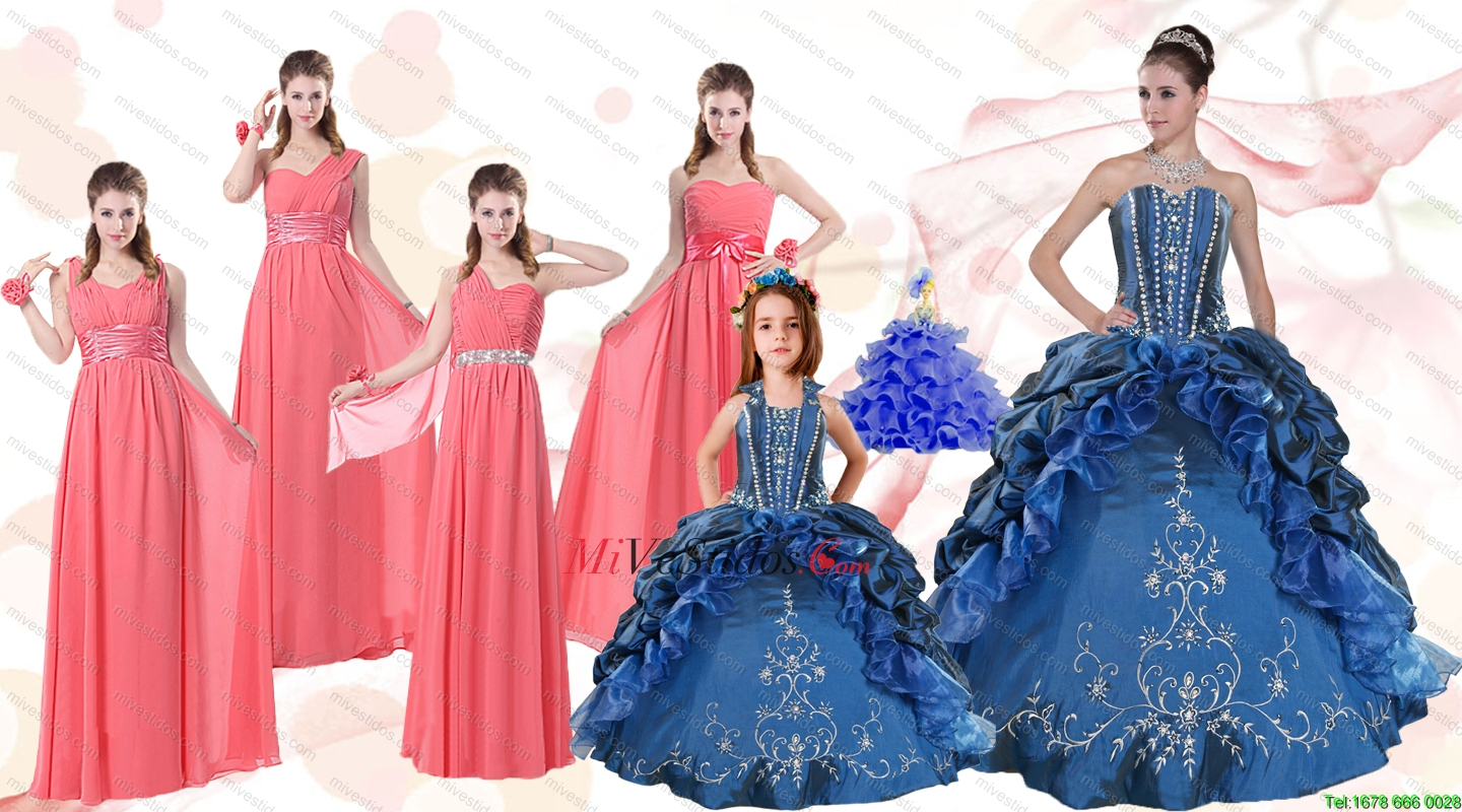 vestido dama fiesta largo | new quinceanera dresses