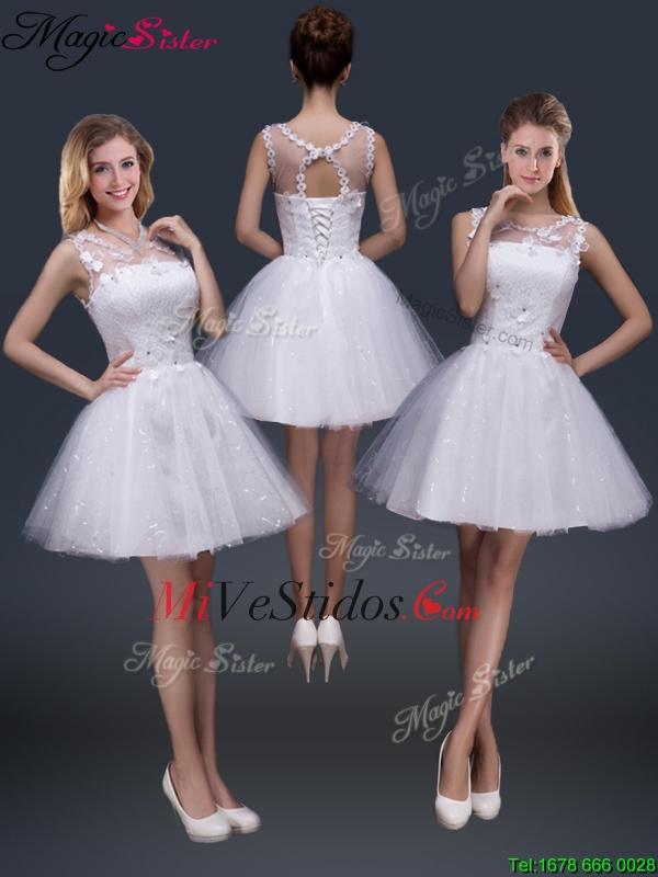 Blanco Vestidos De Quinceañerablanco Quinceañera Dresses