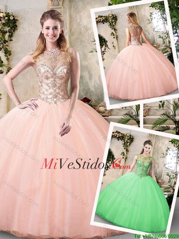 Melocotón Vestidos De Quinceañera,Melocotón Quinceañera Dresses
