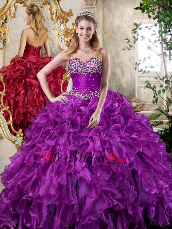 vestidos color morado | new quinceanera dresses