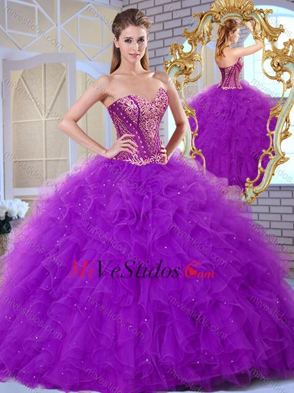 9f328c9ac3 Barato Volantes de novia y Apliques Vestidos de quinceañera 2016. triumph