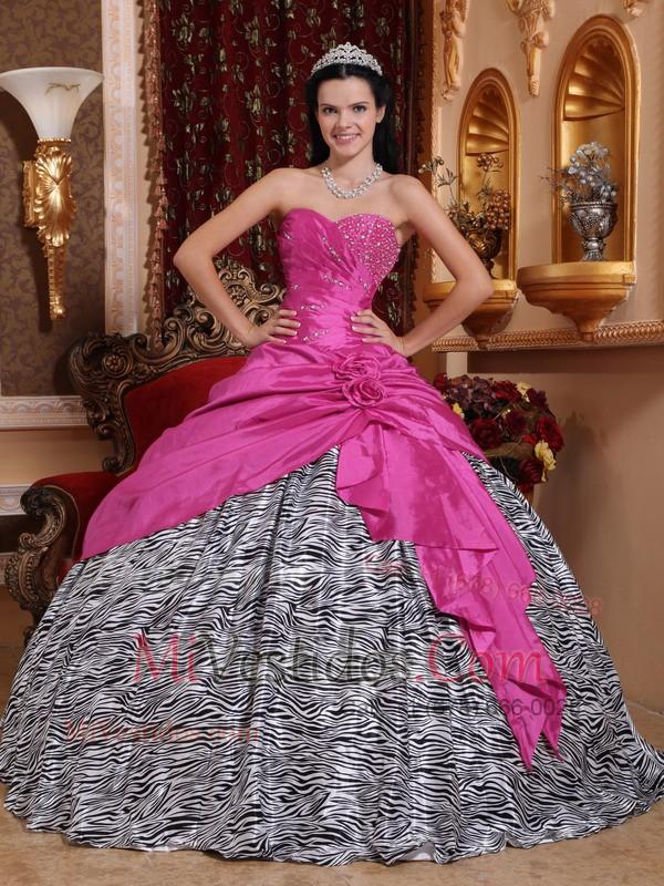 Caliente Rosa Vestido De Fiesta Dulceheart Hasta El Suelo Tafetán Y ...