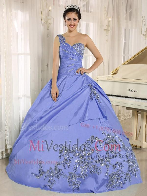 Encantador Un Hombro Vestidos De Dama Púrpura Friso - Ideas para el ...