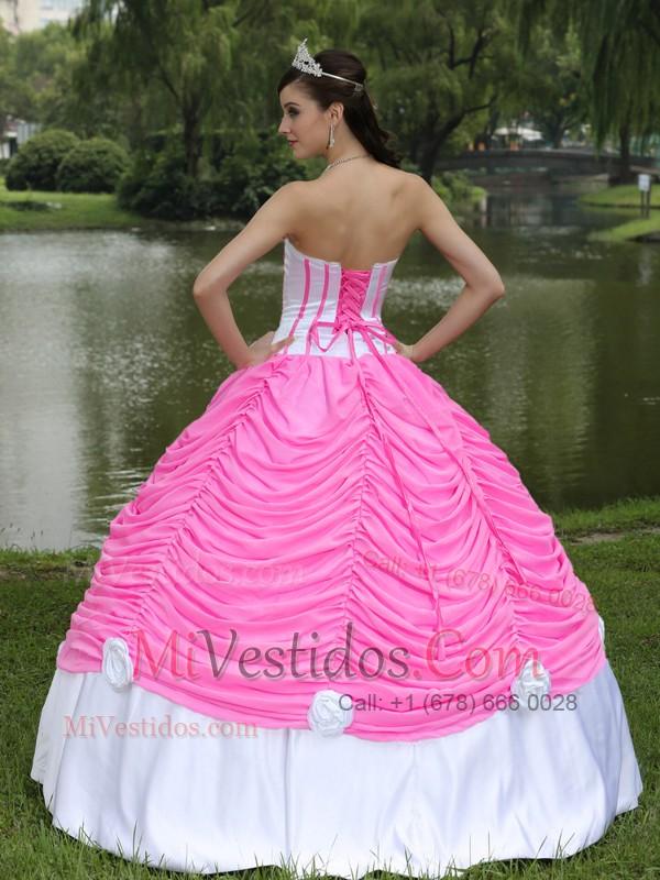 Por Encargo Vestido De Quinceañera Con Estrapless Vestido De Fiesta ...