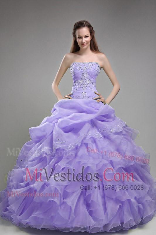 Vestidos de fiesta color lila bebe