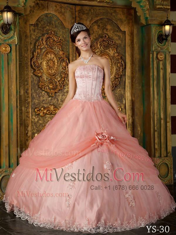Sandía Vestido De Fiesta Estrapless Hasta El Suelo Tul Vestido De ...