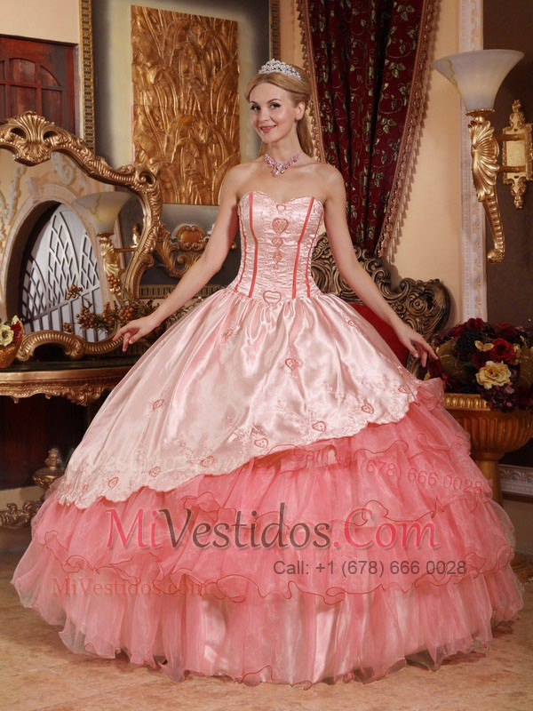 vestido color melon | new quinceanera dresses