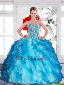 8a9ff8742 €347.71 €185.90  2015 amor elegante multi del color Vestidos de quinceañera  con rebordear y capas rizadas