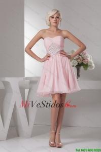 Exquisito Rebordear Y Corte Alto Naranja Dama Vestidos Con