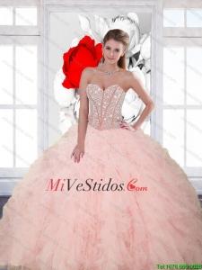 f24d4bd000 €236.48 €111.94  Popular rebordear y las colmenas del amor Vestidos de  quinceañera para 2015 Primavera