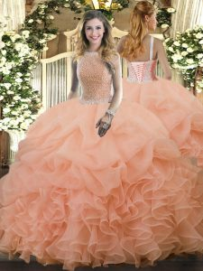 Vestidos De 15 Color Durazno New Quinceanera Dresses