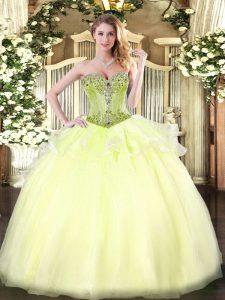 4135a07ae6 €337.68 €204.57  rebordear sin mangas amarillo claro longitud del piso  dulce 16 vestidos