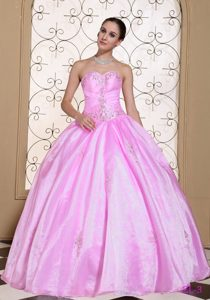 Dulce 2015 Vestido De Quinceañera In California Dulceheart Beaded Decorate Bust